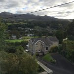 View from the room of Dolgellau