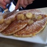 Pancakes and bananas!