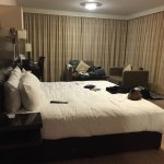 Free honeymoon upgrade to a suite! Great Heathrow hotel and a excellent price.