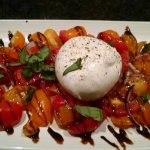 Tomato Caprese with Fresh Burrata