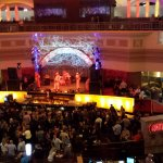 2nd Level view of Center Cosmo Bar during Live Band Performance