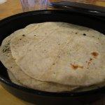 Flour Tortillas served with Fajitas