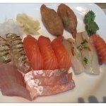今天的生魚片鮮美