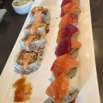 Absolutely amazing sushi !  Fresh, big & beautiful! They offer top shelf fish which you see here