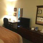 Desk, TV, Dresser