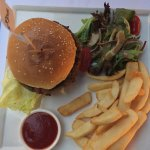Burger at Jaspa's