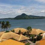 Uitzicht vanaf balkon richting Samar