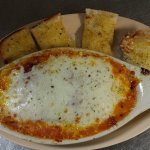 Johnny Brusco's 2 most popular items. The Lasagna made with sliced meatballs and crumbled Italia
