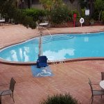 Handicap access to adult pool was amazing to see not too many hotels provide this