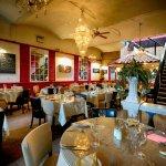 Bellini's dining area