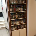 Ouzo cabinet