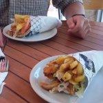 Chicken Pita Gyros