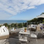 Boskerris decking with panoramic ocean views
