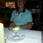 affogato al limoncello (glace au citron au limoncello)