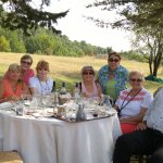 Our private wine tasting with Alan Evans, our wonderful tour guide