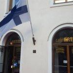 Café artist - localizado no térreo do teatro Finlandes