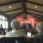 Locals and tourist (mostly locals I think) at the Saturday Fiddle Matinee.