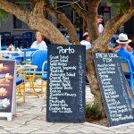 Porto menu boards,very competitive