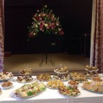 Afternoon tea for 120 at Cross Ash village Hall