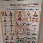 Yoga daily practice (poster)