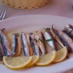 Highly recommended marinated whitebait