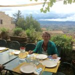 Lunch for Eight Overlooking the Assisi Valley