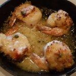 Lobster stuffed shrimp