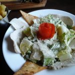 Caesar Salad and Chip