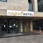 Front of the Maldron Smithfield Hotel