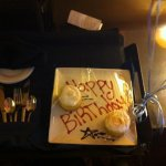 Special Birthday Suprise from hotel