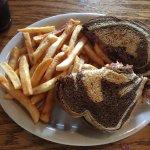 Mulconry's Irish Pub - Reuben with fries