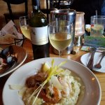 seafood risotto, very rich but very good