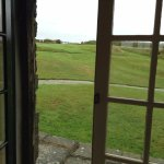 View from High cliff french doors