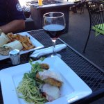 Outdoor patio is such a treat in quaint Wortley Village.