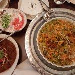 Chamandi Rice, Muscat Gosht
