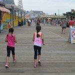 Wildwood Boardwalk Foto