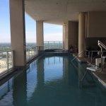 Beautiful pool area- very relaxing