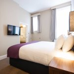 The recently refurbished rooms