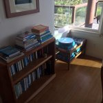 Tons of guide books, novels, games, puzzles, etc - for nights when you want to stay in.