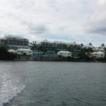 View of the rear of hotel from the ferry