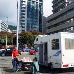 Foto de Wellington Waterfront Motorhome Park
