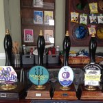 Excellent choice of Real Ales for serious drinkers!