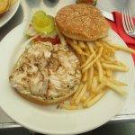 Fish Burger & Fries