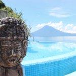 Pool + Volcano View