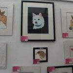Karen Shaw animal portraits.