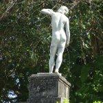 statue adding peace