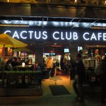 Cactus Club Cafe in downtown Vancouver is a sleek, snazzy eatery with superb service and fine fa