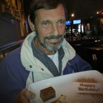 Bruce Keller celebrates his birthday at Cactus Club with a lovely remembrance.