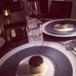 Potato and caviar.....:)