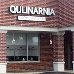 Front & entrance to Qulinarnia